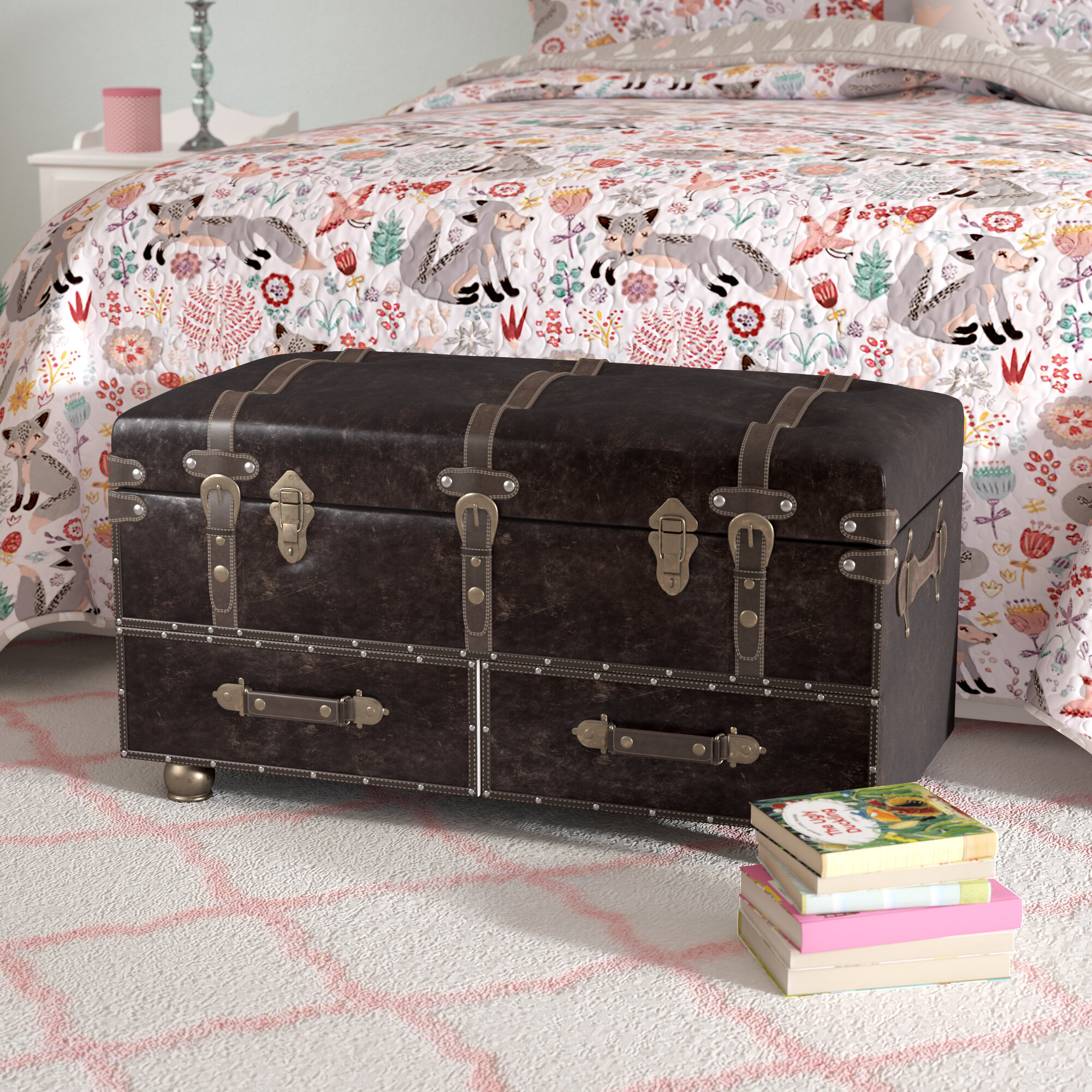 bed trunk You\'ll Love in 2019 | Wayfair