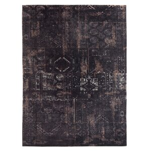 Old Kilim Machine-woven Indoor Blue Area Rug