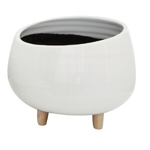 pure ceramic pot planter