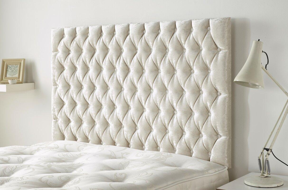 Hazelwood Home Upholstered Headboard & Reviews