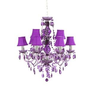 Purple chandeliers wayfair mozeypictures Gallery