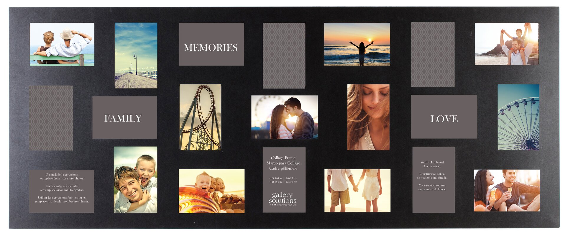 Trottier 21 Opening Collage Picture Frame & Reviews | Birch Lane