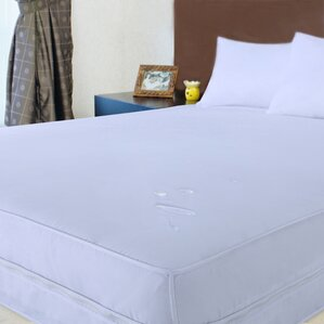 2-Piece Stain Resistant Fitted Waterproof Mattress Protector Set by Stayclean