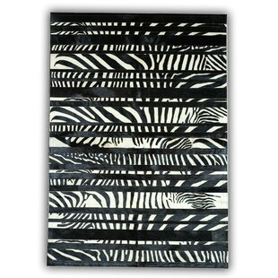 Hillcrest Black/White Area Rug by Longweave