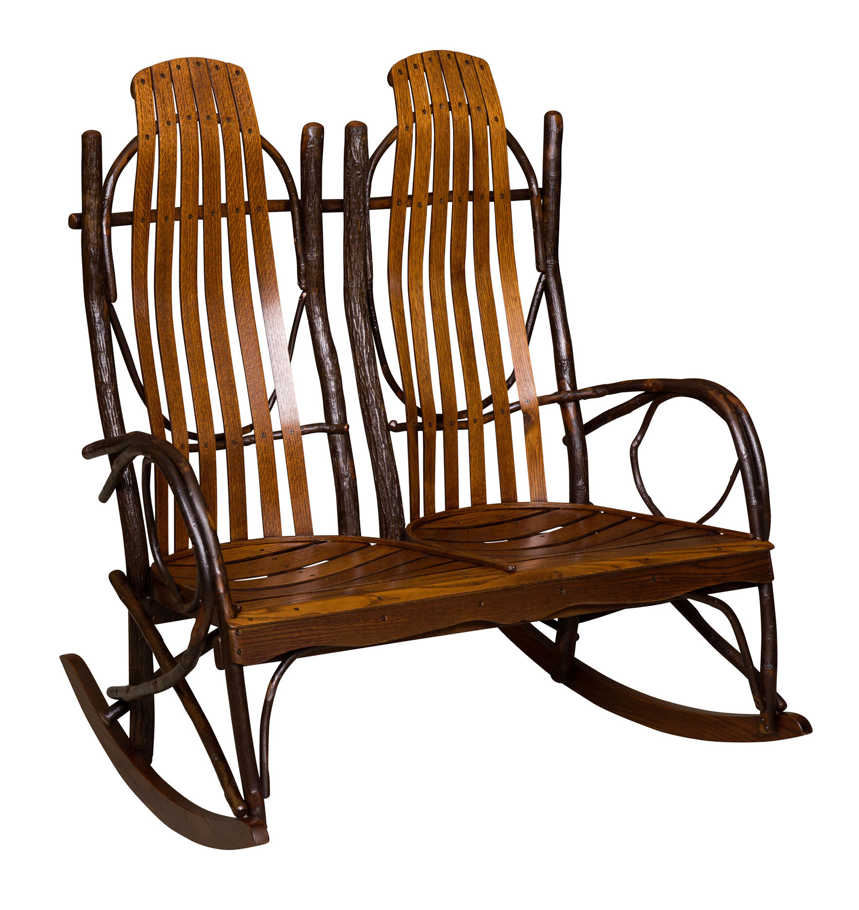 Loon Peak Queener Double Rocking Chair | Wayfair