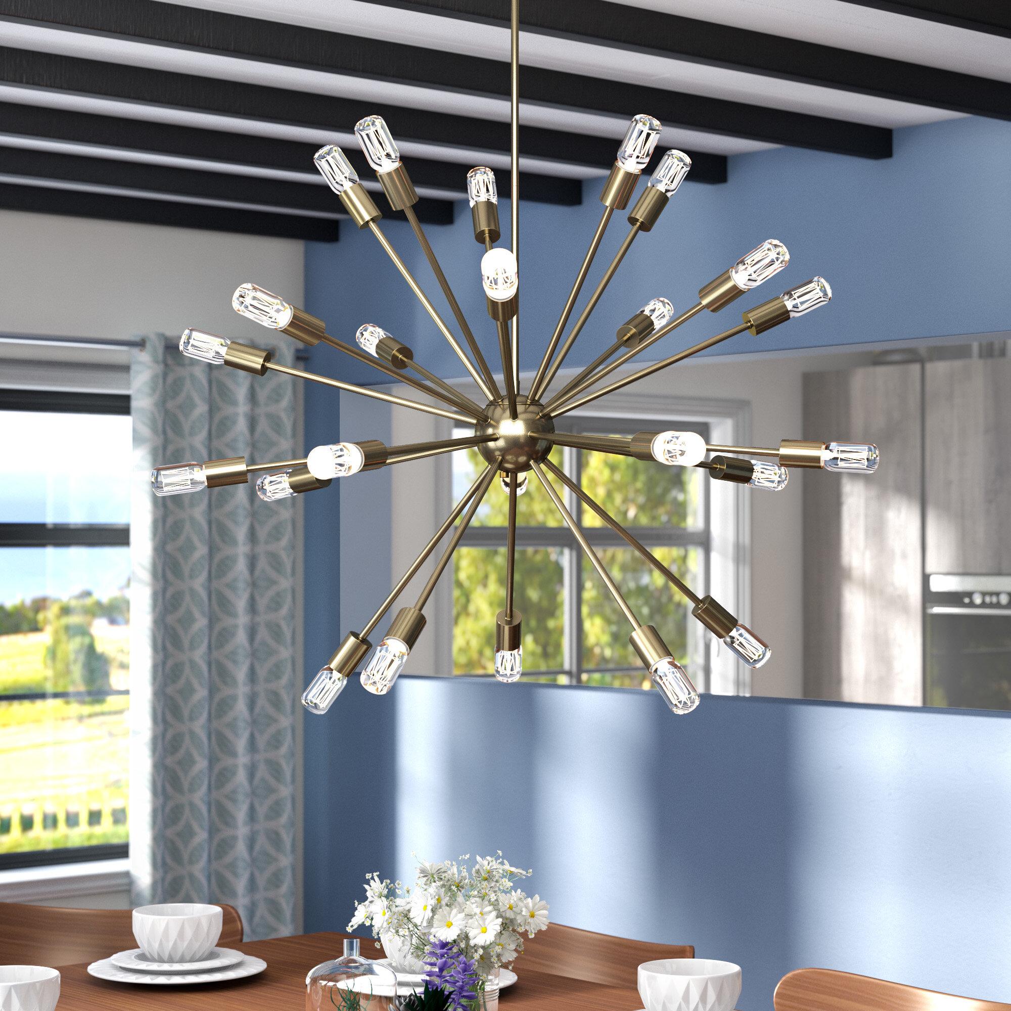 & Langley Street Kendall 24-Light Chandelier u0026 Reviews | Wayfair