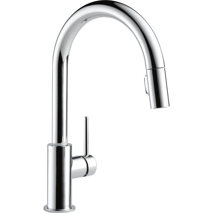 s stainless faucets soap canada lowe one pull dispenser with kitchen steel down savile faucet handle delta ca