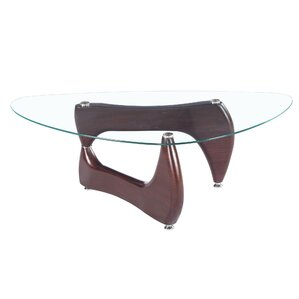 Noguchi Glass Coffee Table by Fab Glass and Mirror