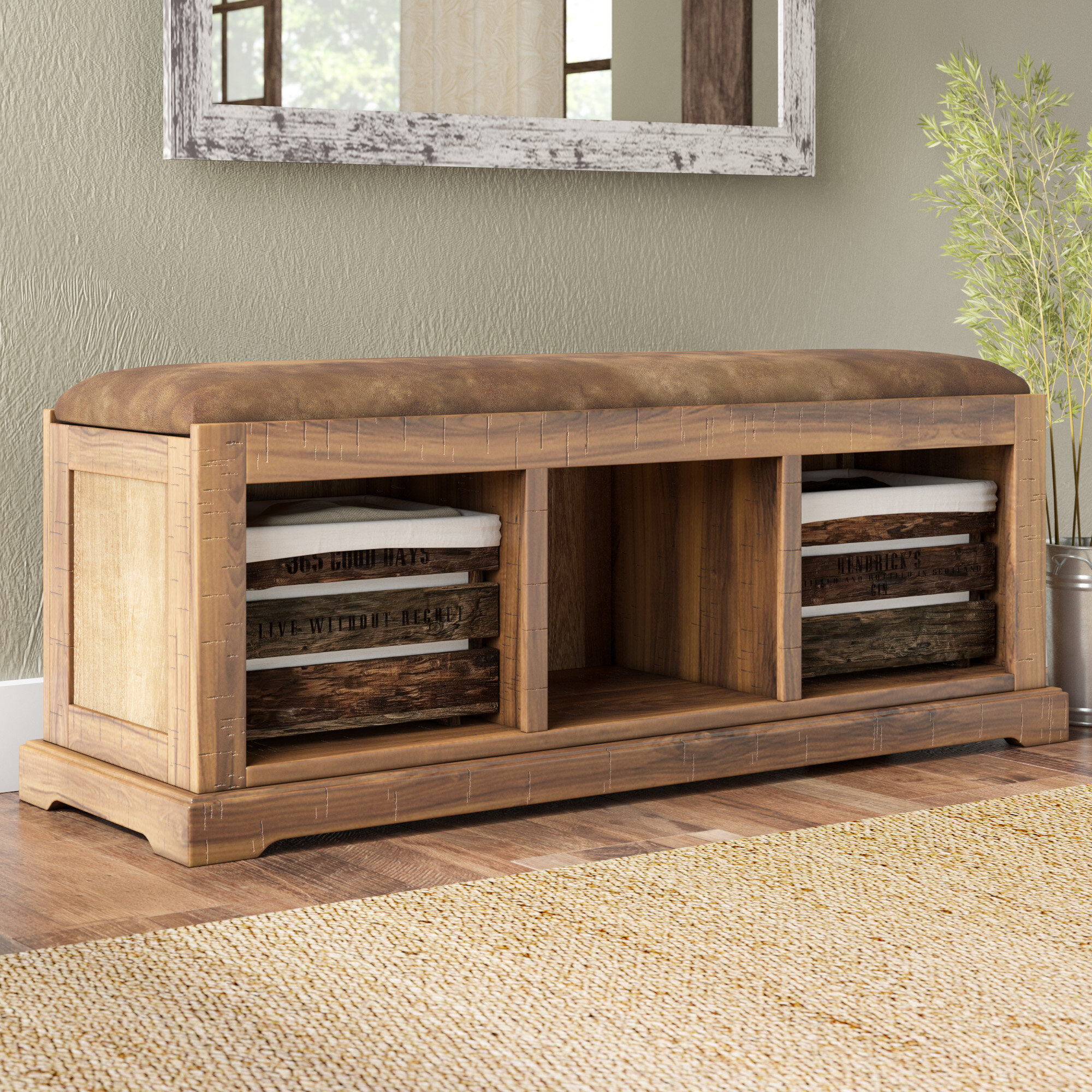 reviews wood uk wayfair ashcroft with bench all furniture co pdp home storage hallway hall