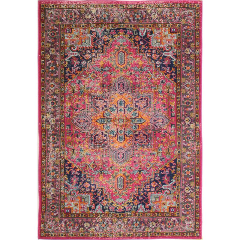 Mistana Ashburn Fuchsia Area Rug Amp Reviews Wayfair Ca