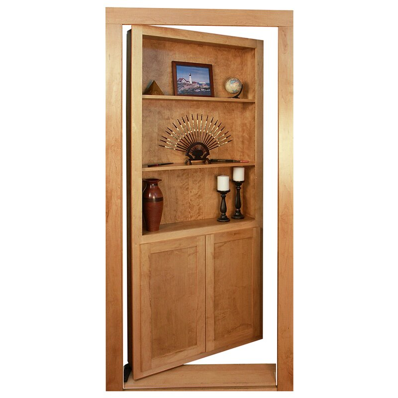 Invisidoor Hidden Bookcase Door Pivot Hinge Kit Wayfair