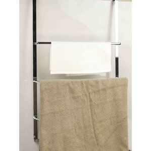 Deluxe Over The Door Towel Rack