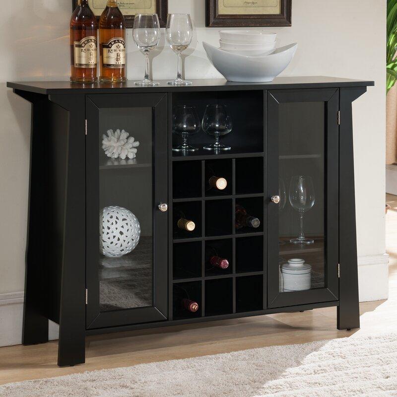 20 Eye Catching Under Stairs Wine Storage Ideas: Zipcode Design Cendrillon Wood Storage 12 Bottle Floor