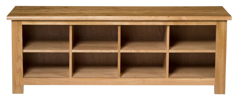 Hallowood furniture new waverly shoe bench reviews for Schuhschrank flap