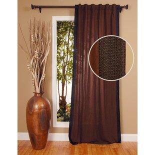 Crinkle Single Curtain Panel