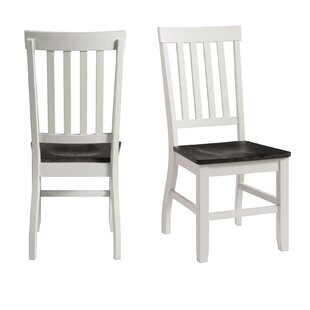 Reichard Solid Wood Dining Chair (Set Of 2) Comparison