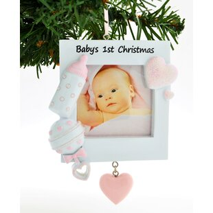 First Christmas Baby Ornament Wayfair