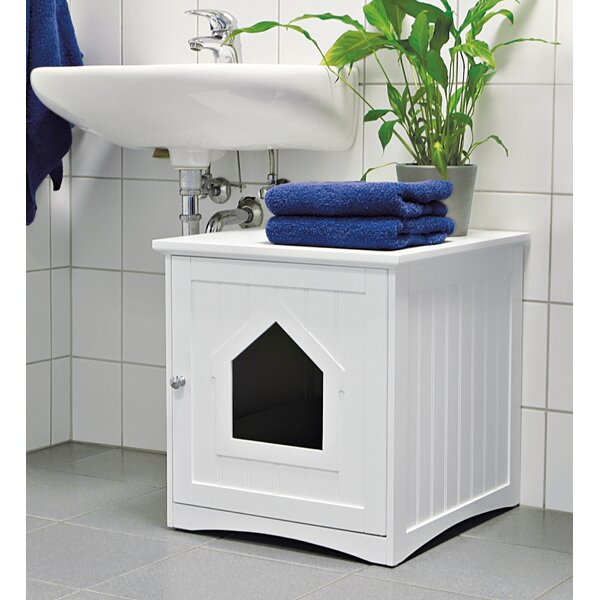 Decorative Litter Box Best Tucker Murphy Pet Lohan Cat Home Litter Box & Reviews  Wayfair Decorating Inspiration