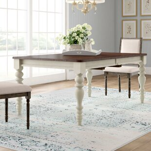 Alise Extendable Solid Wood Dining Table