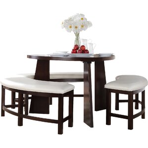 Anton 4 Piece Dining Set by Red Barrel St..