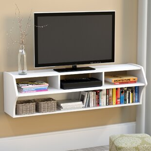 Floating console shelf Ikea Quickview Serapisprojectinfo Floating Tv Stands Entertainment Centers Youll Love Wayfair