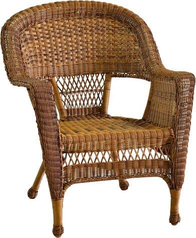 1e6b0d85a3bc Ophelia & Co. Karan Wicker Chair & Reviews | Wayfair