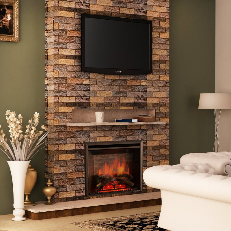 Loon Peak Armes Fireplace Insert Wayfair