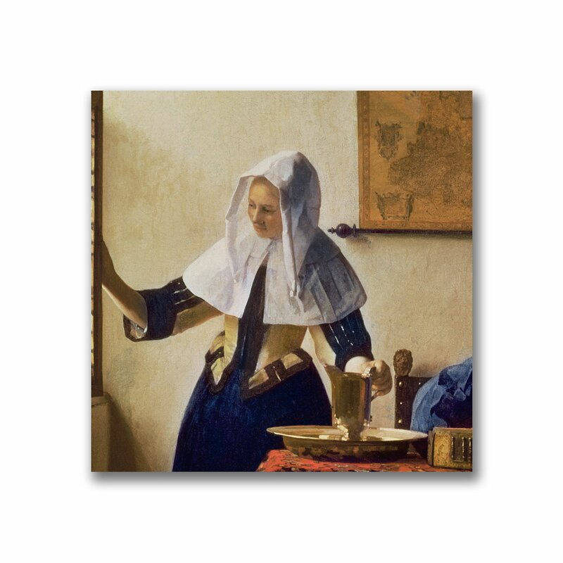 Image Painting Art Woman With A Jug