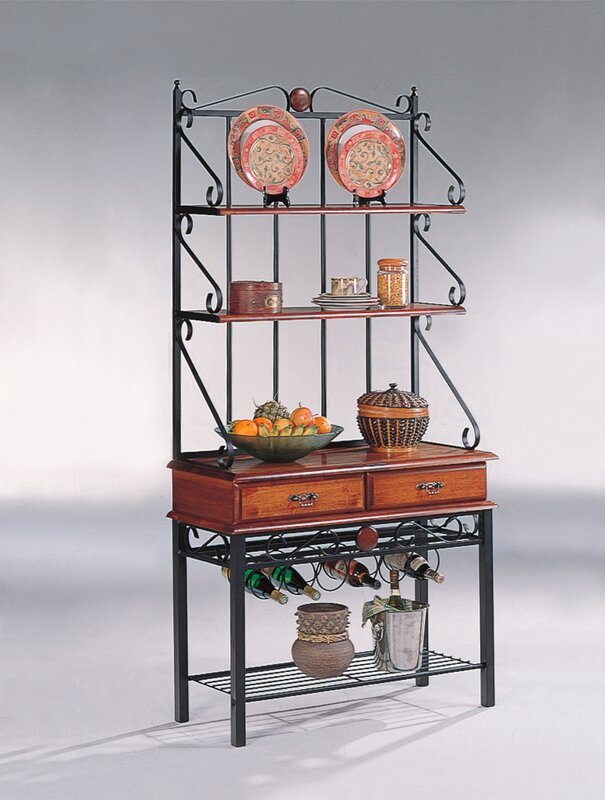 wildon home ferdonia storage baker 39 s rack reviews wayfair. Black Bedroom Furniture Sets. Home Design Ideas