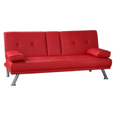 Red Sofa Beds You Ll Love Wayfair Co Uk