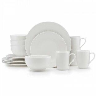 For Me 16 Piece Dinnerware Set Service for 4. by Villeroy u0026 Boch  sc 1 st  Wayfair & Villeroy Boch Dinnerware | Wayfair