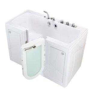 walk in tub for two. Tub4Two 60  X 30 Walk In Combination Bathtub Portable In Tub Wayfair