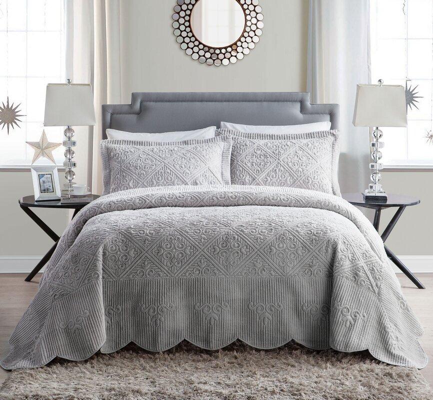 Bedroom Athletics Keira Bedroom Furniture Ideas 2016 Teal Blue Bedroom Ideas Bedroom Ceiling Light Fixtures Ideas: Ophelia & Co. Keira 3 Piece Comforter Set & Reviews