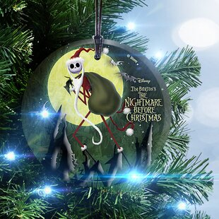 nightmare before christmas santa jack hanging ornament