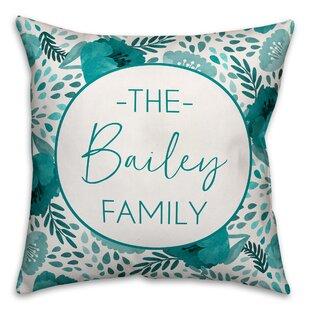 Personalized Outdoor Pillows Wayfair