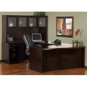 Marvelous Mira Series U Shape Executive Desk With Hutch