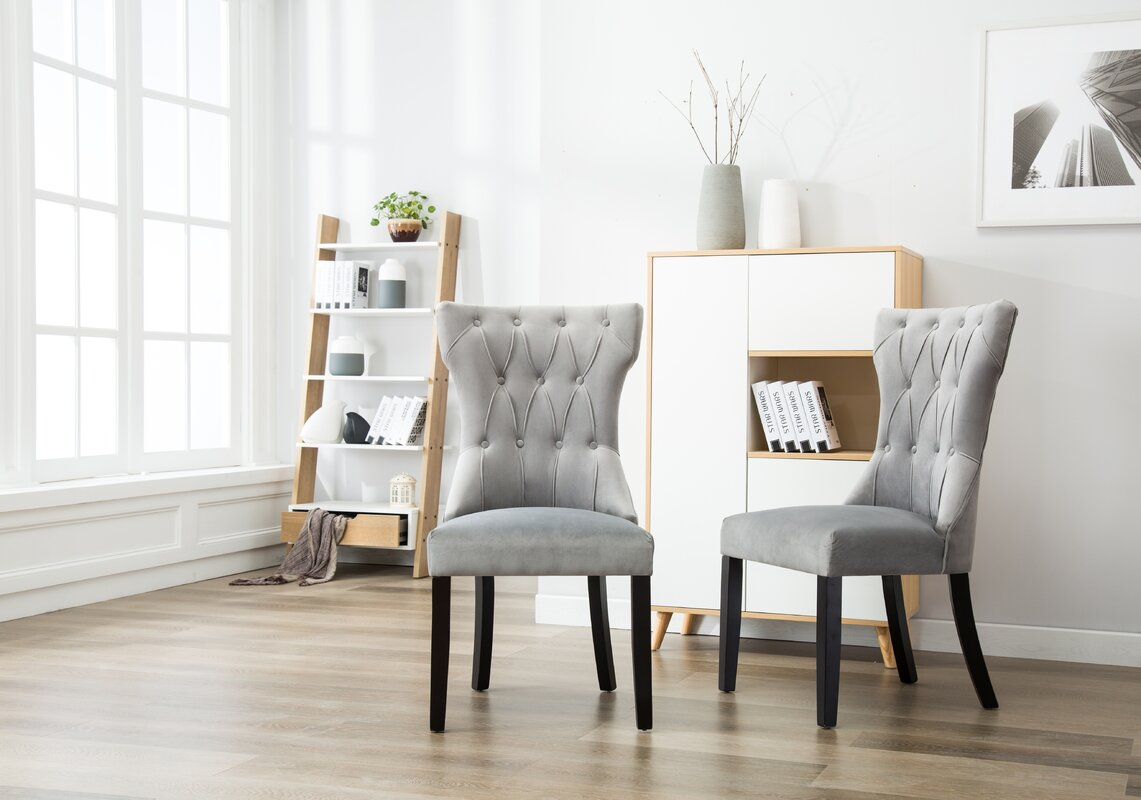 ottley tufted upholstered dining chair