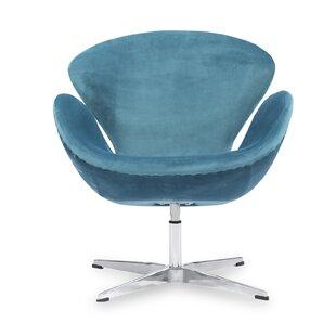 Mid Century Modern Blue Chair Wayfair