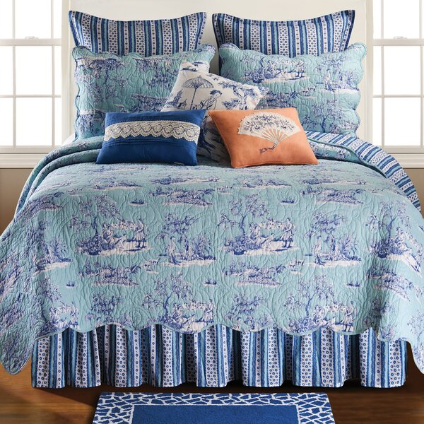 print floral uk quilt size comforter king anya toile bedding set sets blue