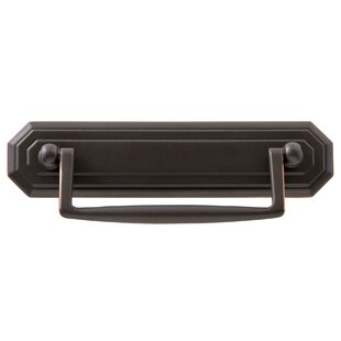 Architectural & Garden Vintage Brass Drawer Pull With Drop Bail Handle 3 Inch Year-End Bargain Sale