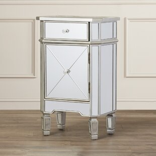 Ordinaire Hall 1 Drawer Mirrored Cabinet