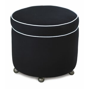 Ravensmoor Fullerton Ink Shoe Storage Ottoman by Eastern Accents