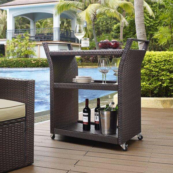 Mercury Row Belton Bar Serving Cart U0026 Reviews   Wayfair