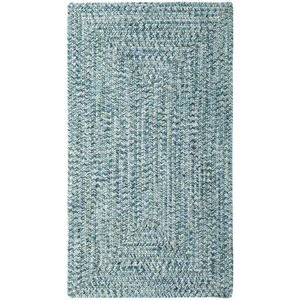 Lemon Grove Ocean Blue Outdoor Area Rug