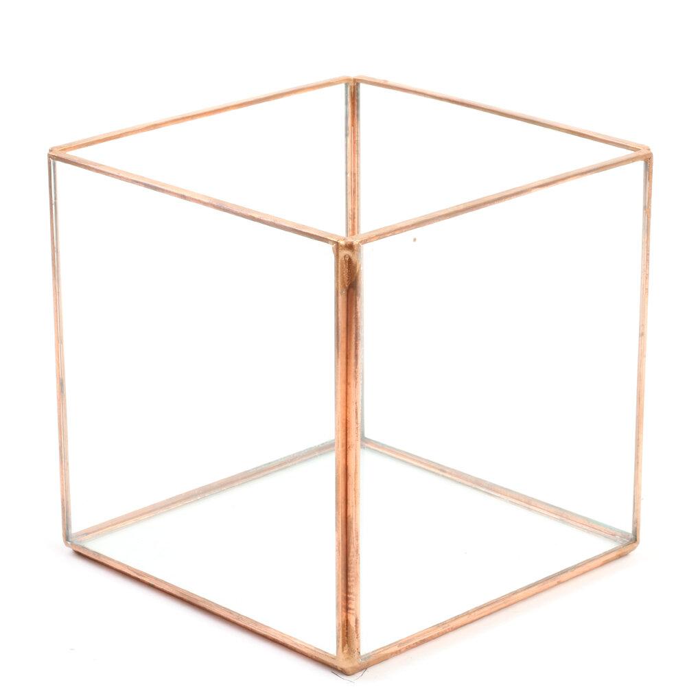 Koyal Wholesale Diamond Geometric Table Glass Terrarium picture