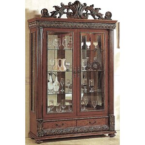 Conway Lighted Curio Cabinet by Astoria G..