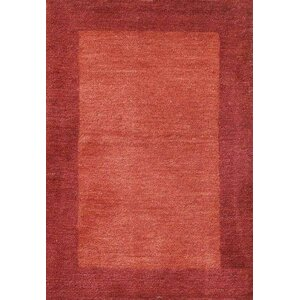 Henley Hand-Tufted Cranberry Area Rug