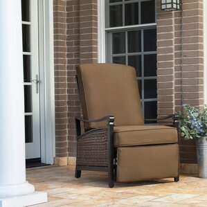 Etonnant Carson Luxury Outdoor Recliner Chair With Cushion