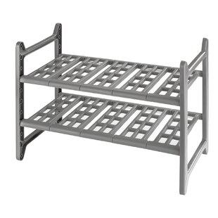 Ahlers Shelving Rack by Rebrilliant