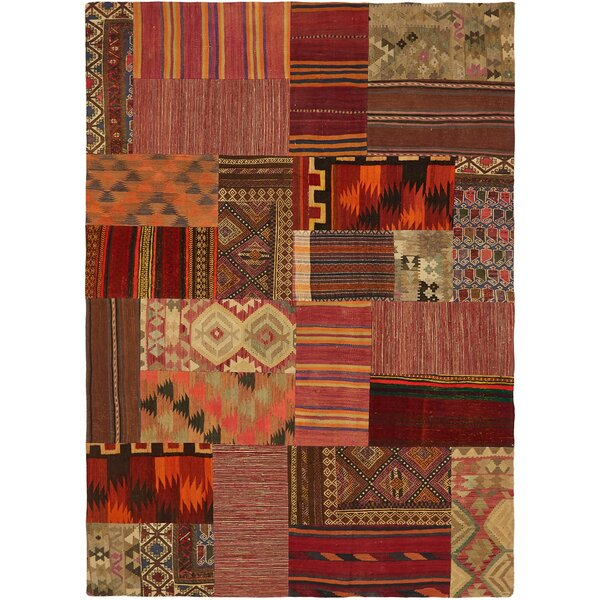 Isabelline One Of A Kind Warrington Patchwork Hand Knotted 7 X 9 8